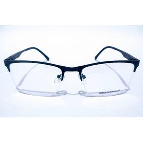 055289c1def1b Armação Oculos Masculino Emporio Armani - Óculos no Mercado Livre Brasil