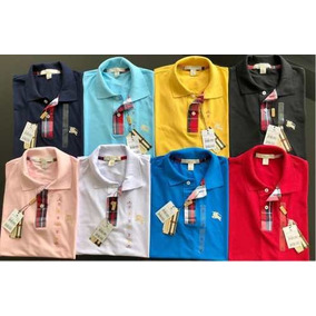 1c5b0073dc Kit 10 Camisas Polos Masculina Peruanas  burberry