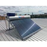 Kit Aquecedor Solar A Vácuo Boiler 300lts 30tubos+caixa 20l