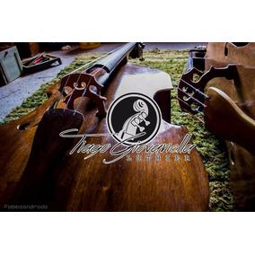 Contrabaixo Acustico 4/4 Luthier Tiago Giovanella Encomenda