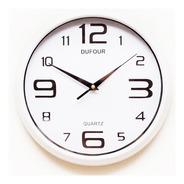 Reloj Pared Dufour 6034 Acrilico 30cm Garantía Oficial 12m.