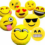 Cojin Emoticon Whatsapp Almohada Algodon 30 Cm / Fiestaclub