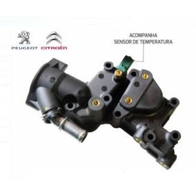 Carcaça Válvula Termostática Peugeot 206 207 E C3 1.4 8v