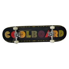 Patineta Premium Estilo Skateboard Plt Colorboard Negro