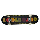Patineta Premium Estilo Skateboard Plt Mod. Colorboard Negro