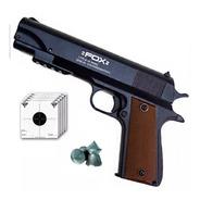 Pistola Fox Piston 4.5 Potenciado Browning Modelo 2019