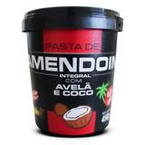 Pasta De Amendoim Integral Com Avelã E Coco Mandubim 450g