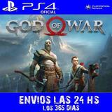 God Of War Ps4 Digital Latino Jugas Con Otro Id Oferta Promo
