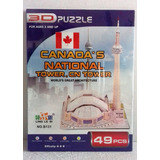 Canada´s National Tower Cn Rompecabezas En 3d