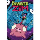Comic Invader Zim No. 1 Portada H Editorial Kamite Cn