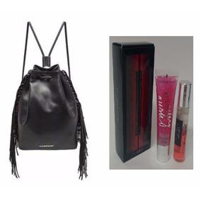 Victorias Secret Mochila De Franjas + 3 Produtos