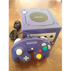 Nintendo Game Cube Roxo Original