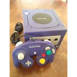 Nintendo Game Cube Roxo Original