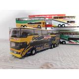 Colectivo Micro Omnibus Bus Welly 1:64 De Colección Nacional