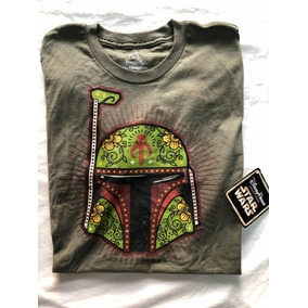 Remera Star Wars Disney Parks Exclusiva Boba Fett Tattoo
