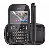 Nokia Asha 201 Qwerty Mp3 Radio Fm Vitrine Bloqueado Vivo