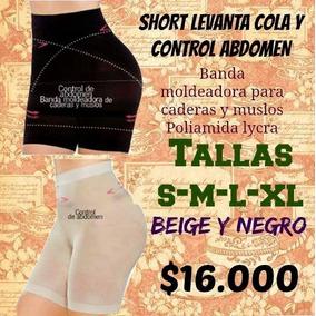 Body Panty Short Levantacola Control Abdomen Para Mujer