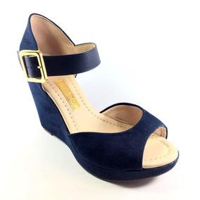 4aa80cfcb8 Sandalia Gladiadora Camurca Anabela Moleca - Sapatos no Mercado ...