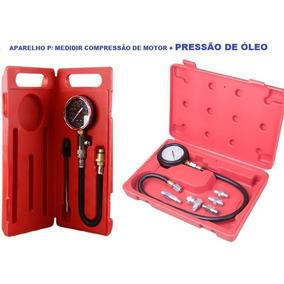 Testar Pressão De Óleo + Compressão De Motores + Maleta
