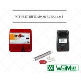 Kit Eletrificador Rural+para-raio+filtro De Linha Wamur 1.0j