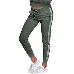 Pantalón Pink Verde Musgo 7856