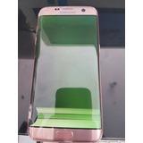 Samsung S7 Edge Rosa Pantalla Rota Para Repara O Piezas