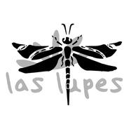 Las Lupes  - Stencil Libelula A21 - 12 X 15cm
