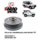 Polia Virabrequim Land Rover Discovery 2 Defender Td5 Novo