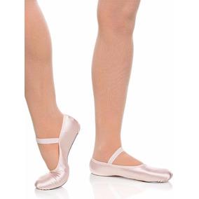 Sapatilha Ballet Cetim Sola Inteira Capezio