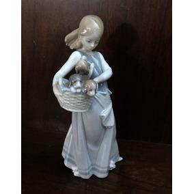 Figura De Legítima Porcelana Lladró Hecha A Mano