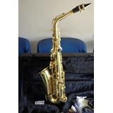 Saxofon Alto Scala Italiano Sas-20 Con Estuche