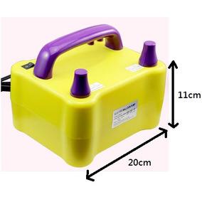 Inflador Bomba Elétrica Compressor Balões Bexigas 110v