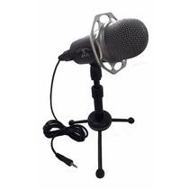 Microfone Condensador Profissional Sf403 Com Pedestal Videos