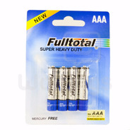 Pack X 20 Pilas Aaa Super Heavy Duty Fulltotal P/ Controles