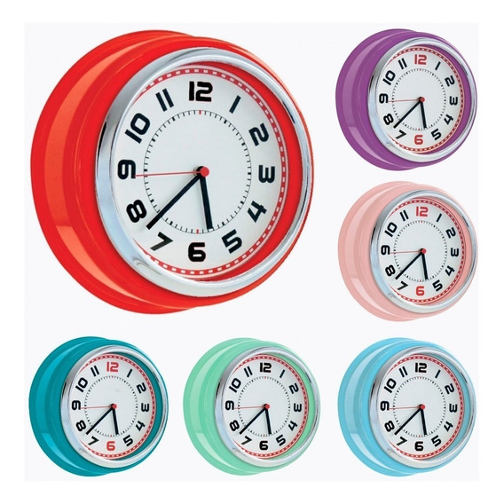 Reloj Pared Retro Vintage Xl Beautiful Home