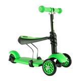Patin Del Diablo Scooters Yvolution Yglider 3 En 1 Verde