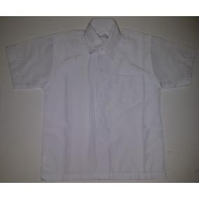 593c019f6 Camisa Blanca Manga Corta Para Niños Talla 11
