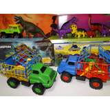 Super Kit Jurassic Park Dinossauro Jeep Caminhão Cenario