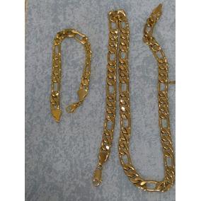 Cadena Y Esclava Cartier Oro Laminado 24k Envío Gratis