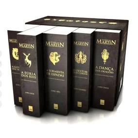 Box Game Of Thrones 5 Livros Guerra Dos Tronos Frete Grátis