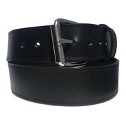 Cinturon Negro Piel Genuina Resistente Old Caborca 38mm