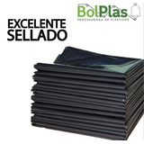 Bolsas Para Basura Negras 40kg 200lt Extra Resistente C8