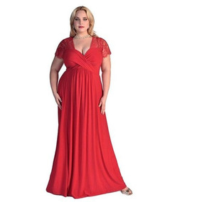 Vestido Longo Plus Size Casamento, Madrinha, Formatura