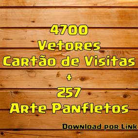 4700 Vetores Cartão De Visitas +257 De Panfletos Cdr +brinde