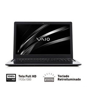 Notebook Vaio Fit 15s Core I5 8gb 256gb Ssd 15.6 Full Hd Wi
