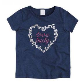 Blusa Hering Kids Brilha No Escuro 5cha - Azul