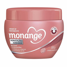 Creme De Tratamento Monange Hidratação Intensiva 300g