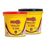 Adhesivo Epoxi Bicomponente Kekol Piso Madera K300 10kg