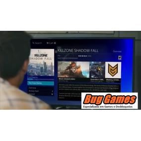 Ps4 Desbloqueado Destravado 4tb + 320 Jogos Escolha + Online