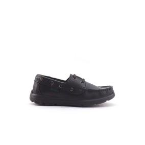 Zapatos Kickers Coast Colegial Escolar Cuero Nauticos 27-33